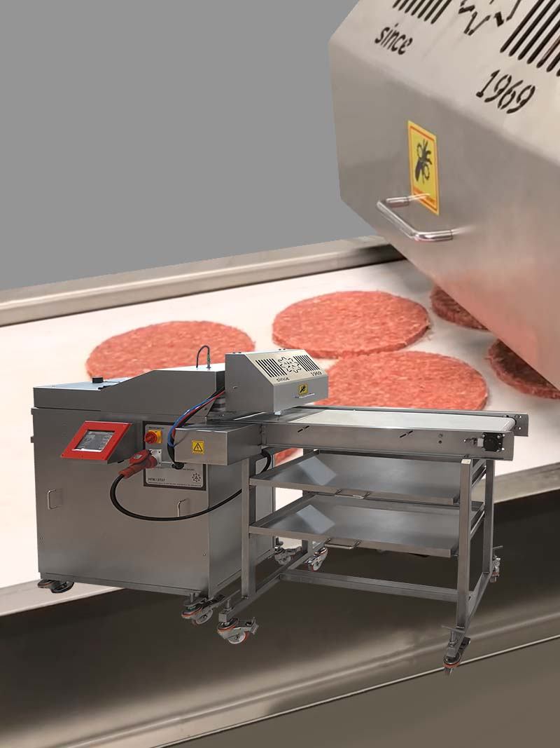 Hamburger Meatball Form Machine