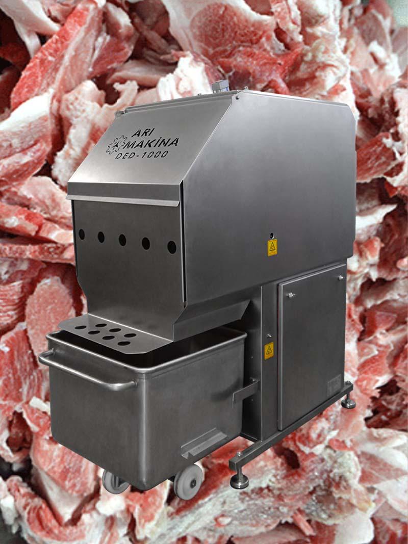 Frozen Meat Slicer Machine