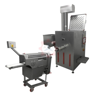 PPKM 42 Ø 130 Meat Grinder with Portioning Machine