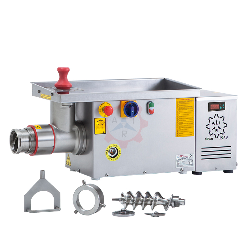PKM 32S ST Ø 98 Meat Grinder With Cooler and Demountable Groove System