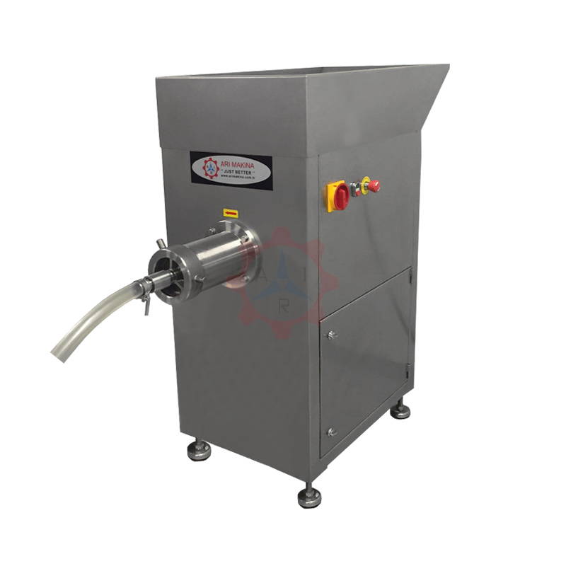 PKM 42 Ø 130 Meat Grinder with Stand and Large Loading Hopper