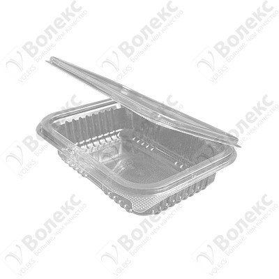 Disposable container with cover 250ml FT 108 D 250 РЕТ