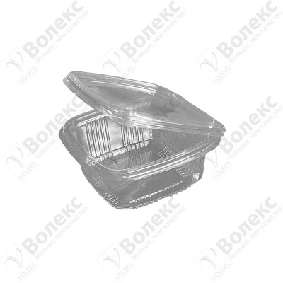 Disposable container with cover 250ml FT 208-250 РЕТ