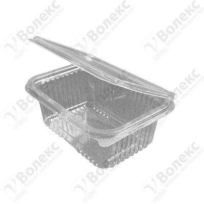 Disposable container with cover 500ml FT 108 D 500 РЕТ