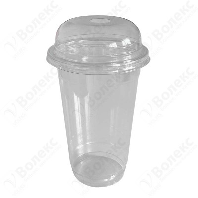 Disposable plastic cup 500ml FT 151-500 РЕТ