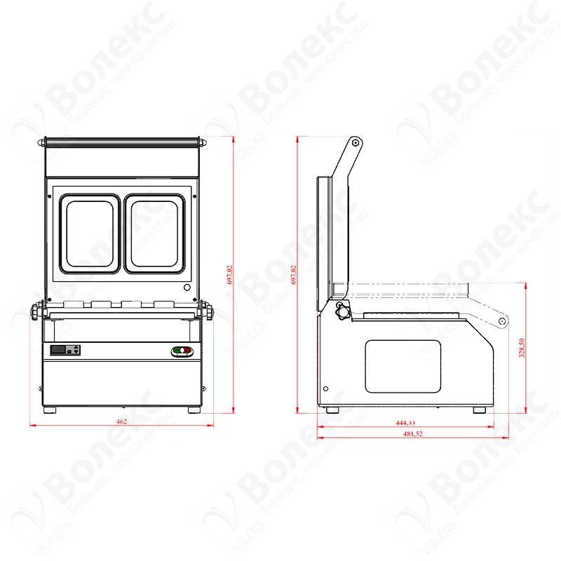 Manual Tray Sealer Clio 28 (190x144) Dual